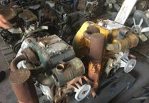 Motores Deutz máquinas dumper