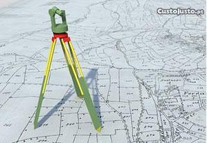 Topografia - Execução de trabalhos topográficos