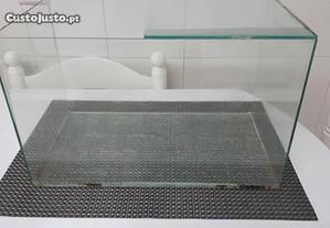 Caixa em vidro para roedores, repteis ou peixes
