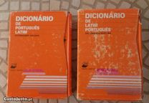 2 Dicionários: Latim-Português / Português-Latim