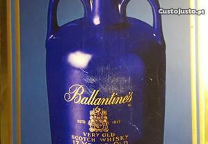 Whisky Ballantines Raro porcelana