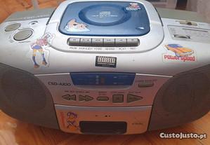 Rádio Aiwa CSD-A100