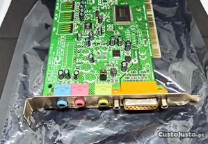 Placa de som Sound Blaster PCI 128 - Portes Grátis