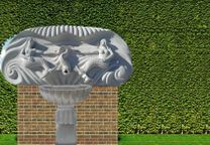Escultura Fonte das Sereias