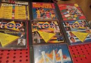 7 cds antigos de música diversa