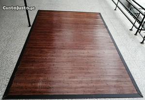 Tapete ou carpete em bambu
