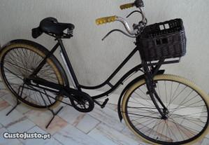 Bicicleta antiga francesa Alcyon, muito rara