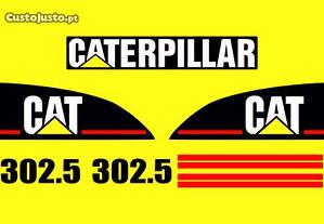 Kit autocolantes CAT 302.5