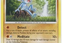 Pokemon Card -Meditice lv.19 HP 50