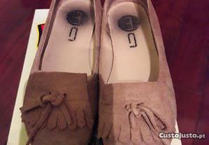 Sapatos bege