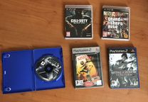 Jogos PS3/ PS2 e PSP (Playstation)