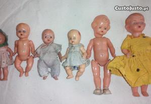 bonecas antigas pequenas