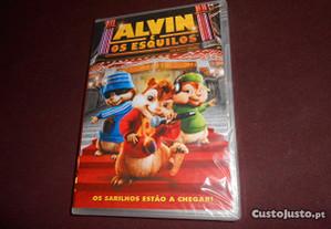 DVD-Alvin e os esquilos-Novo e selado
