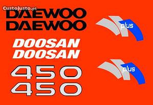 Kit autocolantes Doosan 450 PLUS