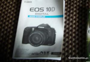 livro para máquina fotográfica canon