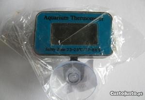 Termómetro digital submersível para aquários