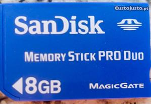 Memory Stick Sandisk 8 Giga.