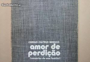 Amor de Perdição de Camilo Castelo Branco.Porto Ed