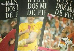 Revistas História dos Mundiais de Futebol