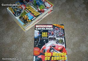 Revistas Motociclismo Ano 2000, nº105/116+Catalogo