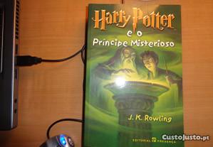 Livro Harry Potter O Princípe Misterioso Of.Envio