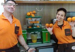 Maquina de sumos espremedor citrinos