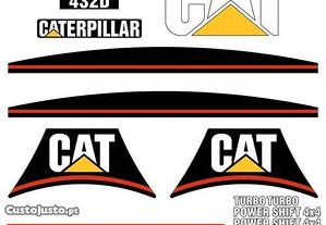 Kit autocolantes CAT 432D