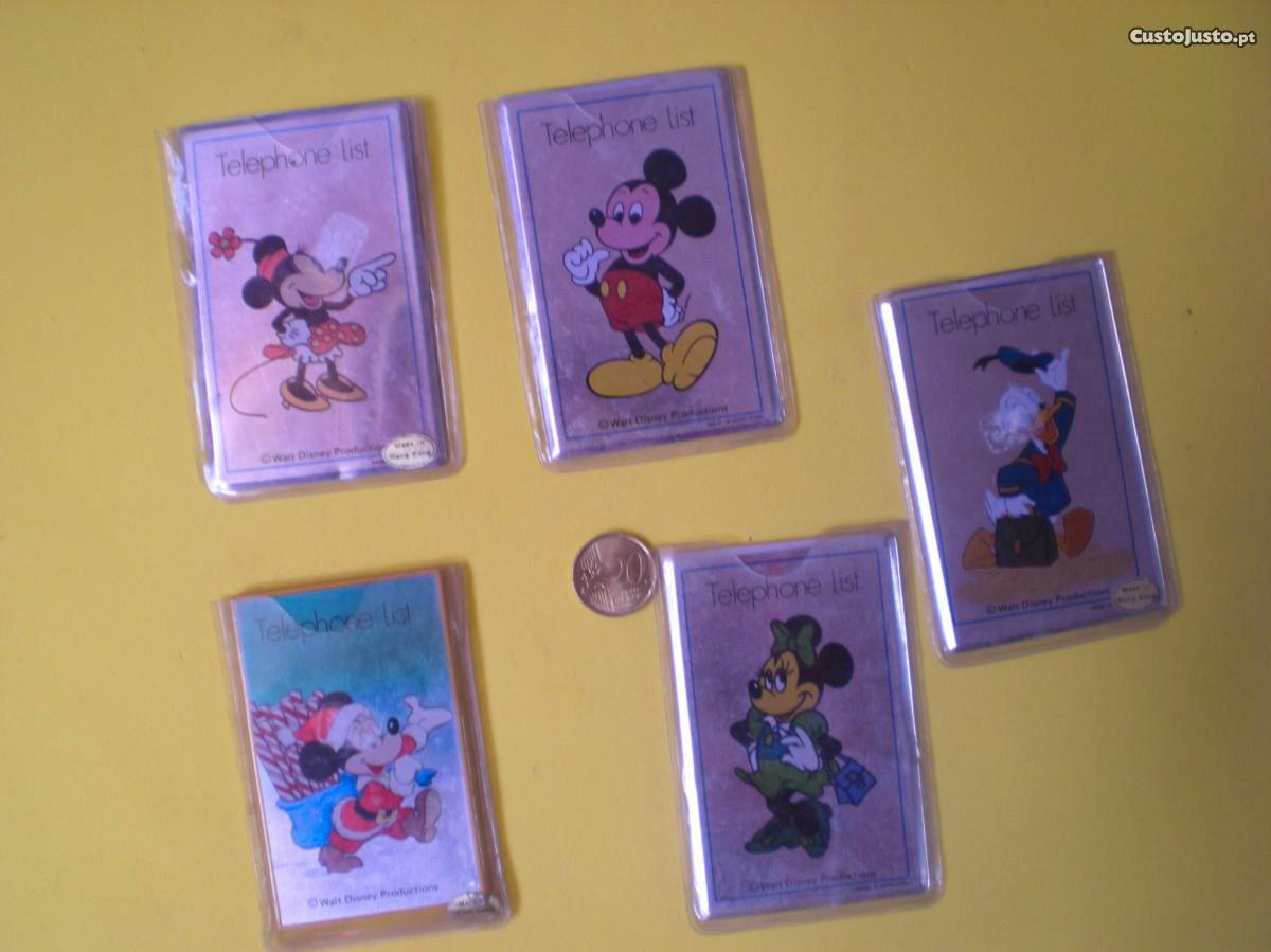 Disney Agenda Telefonica Desenho Animado Infantil A Venda