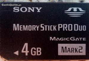 Memory Stick Sony 4 Giga.