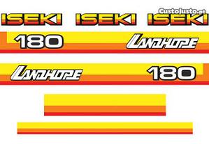 Kit autocolantes Iseki Landhope 170/180