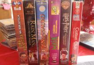 6 filmes em VHS (juvenil)