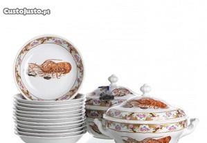 Parte Serviço Jantar Porcelana Europeia