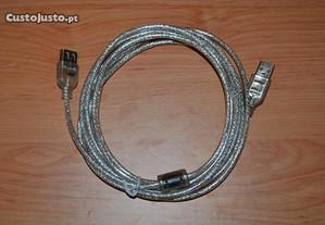 Cabo de 3 Metros USB ou Extensão