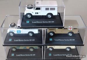Miniaturas 1:72 Lote 5 Land Rover Série III 109