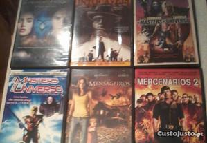 DVDs Diversos géneros 1