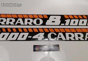 Carraro 8.1000-4 820 autocolantes tractor sticker