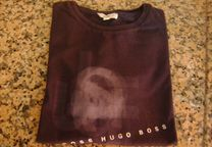 Blusa de manga curta Hugo boss original