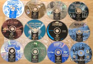 Dreamcast 22J: Capcom, ECW, F1, MDK2, Sonic, Star+