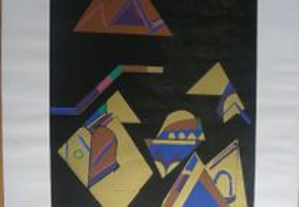 Serigrafia de Isabel Laginhas