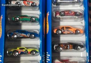 Hot Wheels - 2 Packs de 5 miniaturas (1998)