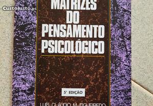 Matrizes do Pensamento Psicológico (portes grátis)