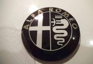 Simbolo alfa romeo 74mm capot mala