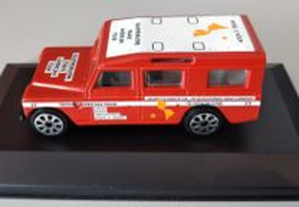 Miniatura 1:47 Low Cost Land Rover Trans América