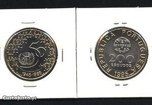 Espadim - Moeda de 200$00 de 1995 - ONU