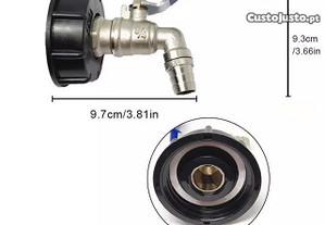 Adaptador de torneira IBC/ reservatório água 1000l
