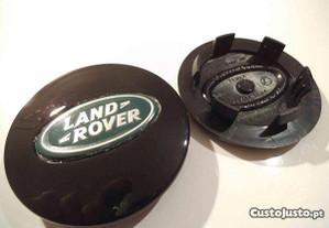 Centro jante land rover 62mm preto