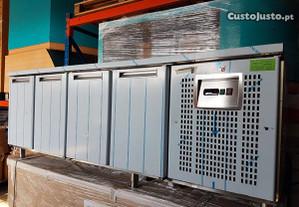 Bancada refrigerada nova 4 portas