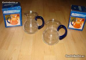 Utencílios em vidro para a cozinha