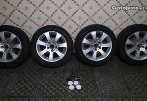 Jantes 16 BBS 5x120 + pneus + centros novos