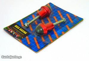 Cogumelos de protecção Honda hornet 600 vermelho